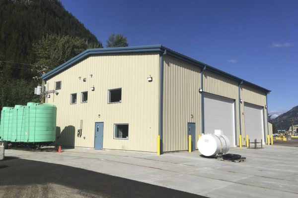 Zellstoff Celgar Repair Garage