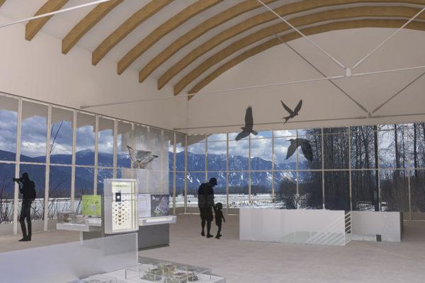 Creston Valley Wildlife Management Area New Interpretive Centre